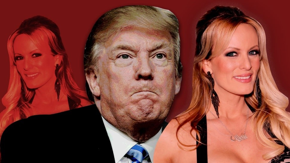 Image result for Trump and stormy daniels